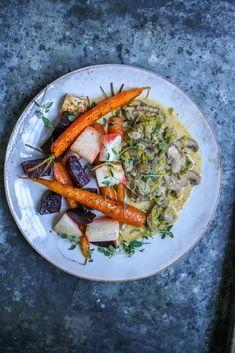 Oppskrifter | Desiree Andersen Shrimp, Carrots, Meat, Vegetables, Ethnic Recipes, Food, Beef, Veggies, Carrot