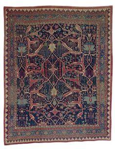 Persian Bidjar rug, late 19th c