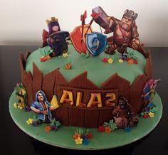 Clash of Clans Birthday Cake
