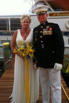 A Classic boat Wedding.