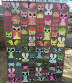 Fancy forest quilt top finished | Flickr - Photo Sharing! @spetzie on IG