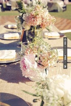 Love this - centerpieces  //  gideon photography | CHECK OUT MORE GREAT VINTAGE WEDDING IDEAS AT WEDDINGPINS.NET | #weddings #vintagewedding #weddingvintage #oldweddingphotos #events #forweddings #iloveweddings #romance #vintage #planners #old #ceremonyphotos #weddingphotos #weddingpictures