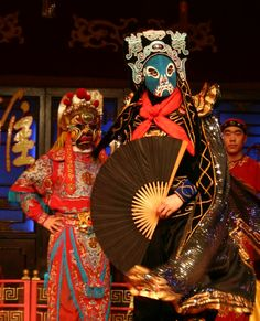 Chinese Opera - Chengdu Folklore Show  via www.reflectionsenroute.com