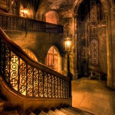 a Hogwarts interior -  from the Harry Potter films
