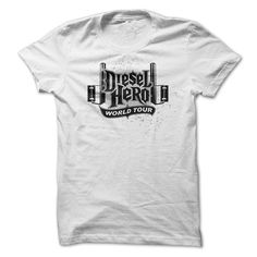 View images & photos of Diesel Hero World Tour t-shirts & hoodies