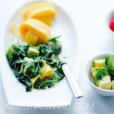 Makaron z avocado