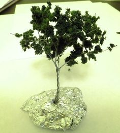How to Make Quick and Easy Model Wire Trees