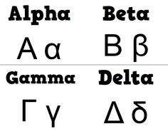 Learn how to write the letters of the Koine Greek Alphabet