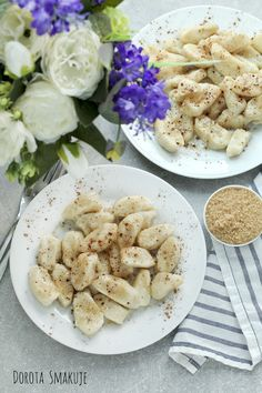Leniwe z cynamonem Gnocchi, Risotto, Meat, Chicken, Ethnic Recipes, Food, Meal, Eten, Meals