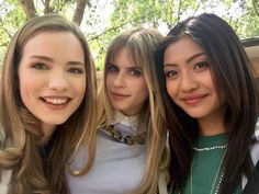 Willa Fitzgerald, Carlson Young, and Brianne Tju