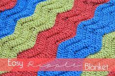 Easy Crochet Ripple