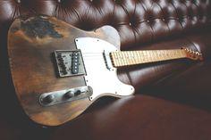 #Relic #Guitars The Hague Butterscotch Blond heavy relic'd #Telecaster #guitarporn