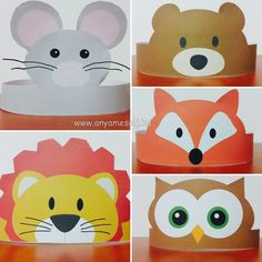 5 fejdisz Gruffalo Party, The Gruffalo, Animal Crafts For Kids, Diy For Kids, Easter Crafts, Christmas Crafts, Diy And Crafts, Arts And Crafts, Paper Crowns