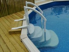 Above ground pools wood google search pool ideas for Pool deck design tool