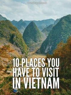 Vietnam is an incredible country to explore, with so many beautiful spots, vibrant cities and friendly people all across the country. That being said, with so many of the best places in Vietnam to visit, Vietnam Travel Guide, Vietnam Tours, Asia Travel, North Vietnam, Travel Advice, Travel Guides, Travel Tips, Travel Deals, Laos