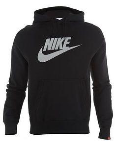 Nike Hoody Mens Style : 653889 Mens Hoodies & Sweats 653889-010 Black SZ-XL