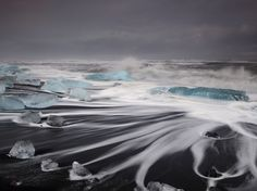 Iceland Waves -- National Geographic Photo of the Day