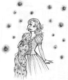 1000 images about rapunzel disegni da colorare on for Disegni da colorare e stampare di rapunzel