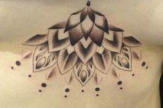 My sternum tattoo #mandala