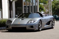 Koenigsegg CCX has the ability to run up to 245mph or 394 km/h, and accelerate from 0-100 in 3.2 seconds CCX -.powered 806 hp V8 engine & is made in Sweden. Price tag $545,568