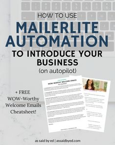 business tips, build email list, automation, email tips, entrepreneur tips, Mailerlite, content upgrades, grow email list
