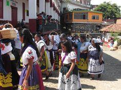 Purepechas in Janitzio, Michoacan
