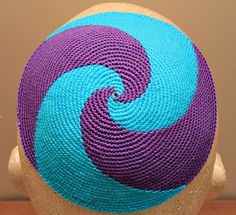 Top your noggin with a wilder-style yarmulke