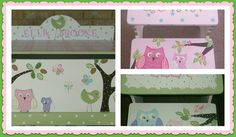 Toy Boxes, Owls, Toy Chest, Awesome, Handmade Gifts, Etsy, Kid Craft Gifts, Craft Gifts, Owl