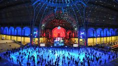 Visit Paris and disco the night away until January 2nd in the World's largest indoor ice rink at the Grand Palais, Europe's biggest glass-roofed structure.   #IceSkating #Christmas #Magical #Stayat52 #ParisStyle #Paris #GrandPalais #StaywithMe