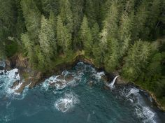 Aerial Sombrio - A bit of drone work looking down on some old growth forest along the Juan de Fuca trail on the west coast of Vancouver Island. The trail follows the coastline for roughly 45km and then ends at Port Renfrew. From Port Renfrew the 70 odd km west coast trail begins and ends at Bamfield.