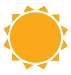 Bilderesultat for flat icon sun