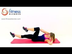 10 Minute Abs Workout - Fitness Blender Abs and Obliques Routine