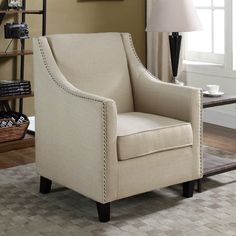 Anne Wingback Chair White Crypton  Living Room  Pinterest Interesting Wing Chairs For Living Room Inspiration Design