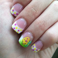 Discover cute and easy nail art designs for all occasions. Find inspiration for Easter, Halloween and Christmas and create your next nail art design. Shellac Nails, Diy Nails, Cute Nails, Pretty Nails, Acrylic Nails, Nail Polish, Remove Shellac, Nail Nail, Easter Nail Designs