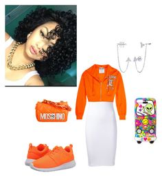 """""""Girls Day Out"""" by aharcaki ❤ liked on Polyvore featuring T By Alexander Wang, Moschino, NIKE, claire's and BERRICLE"""