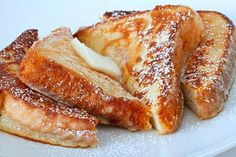 Easy country style french toast recipe. The perfect French toast to whip up on the weekend for the whole family. Nice simple steps and ingredients.