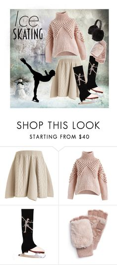 """""""Зимние забавы"""" by holidai ❤ liked on Polyvore featuring Rodarte, Chicwish, Muk Luks and Jennifer Behr"""