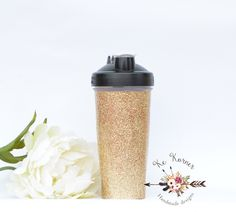 Gold glitter 28 oz Blender bottle, Custom Blender bottle, Blender bottle, Monogram Blender bottle, Blender bottle 28oz, Custom shaker bottle by BlossomNGraceDesigns on Etsy https://www.etsy.com/listing/273207762/gold-glitter-28-oz-blender-bottle-custom