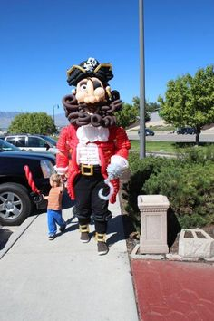 Avast! That be the largest pirate I ever seen.
