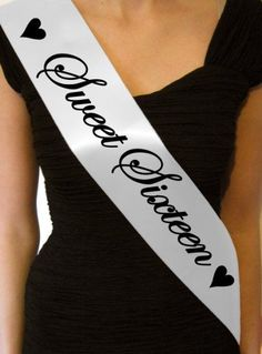 Cute sash; cute for party's if your the birthday girl