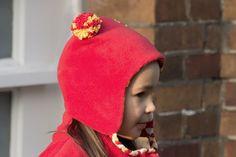 Kuschelige Kindermütze aus Fleece ganz einfach selbernähen mit der Step-by-Step Foto-Nähanleitung