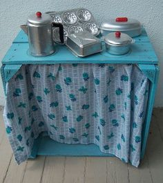 """Mia's """"Use What You Have"""" Soap Box Kitchen"""