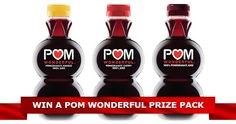 Enter the Contest  Pom prize pack. Canadians may also drink up.