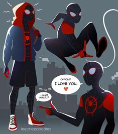 Drawing Superhero Ok everything about this movie was amazing. Like seriously, the animation was on another level, the jokes were hilarious, and the… - Marvel Dc, Marvel Memes, Spiderman Spider, Spider Gwen, Dc Comics, Spider Verse, Comic Character, Iron Man, Comic Books