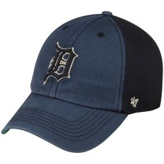f7ceee433bee7 Detroit Tigers  47 Humboldt Franchise Fitted Hat - Navy Black Detroit  Tigers Hat