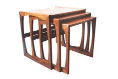 G Plan Quadrille Range Teak Nesting Tables Retro by Thrifters, £95.00