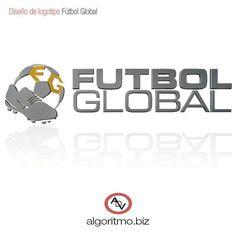 Diseño de  logotipo. Cliente  Fútbol Global.  ADV  diseño  grafico b658e99f10a52