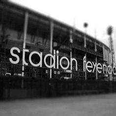 Feyenoord, de kuip.