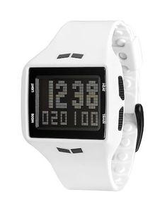 Vestal HLMDP03 Men's Watch Helm Surf & Train White Digital Sports