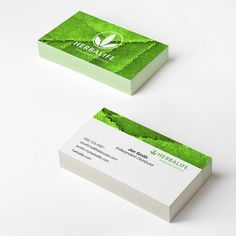 Herbalife business card design template. | Print | Pinterest